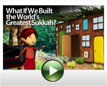 Sukkot Video: What if we built the world's greatest sukkah?